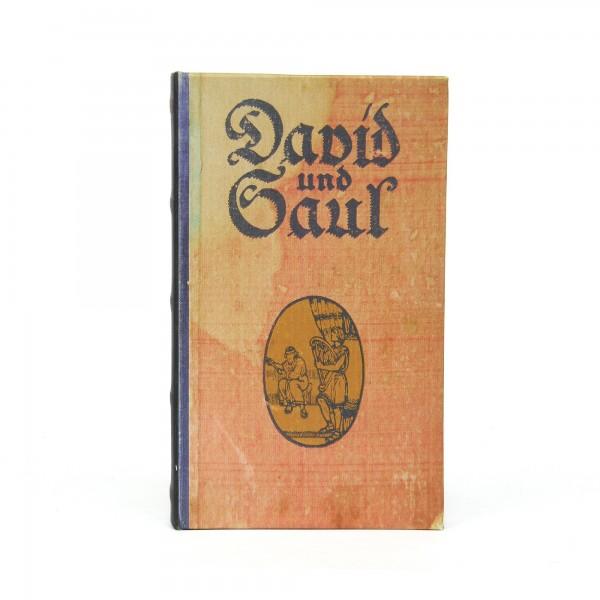 Buchhülle 'David und Saul', T 3 cm, B 13 cm, H 21 cm