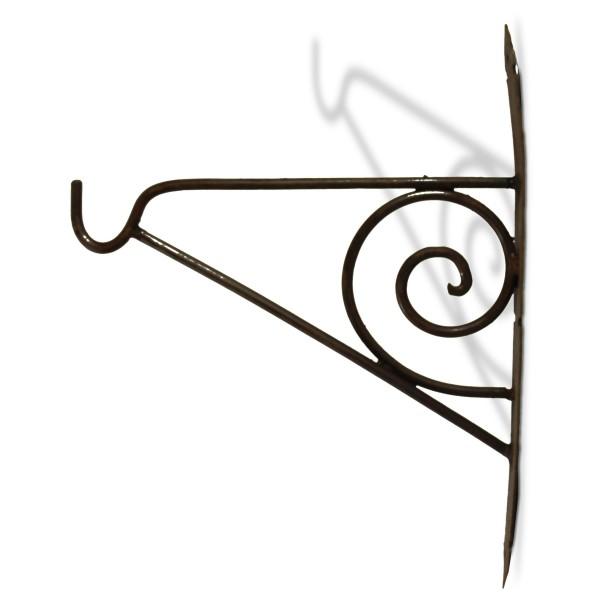 Wandhaken für Laterne, antik-rost, L 20 cm, H 23 cm