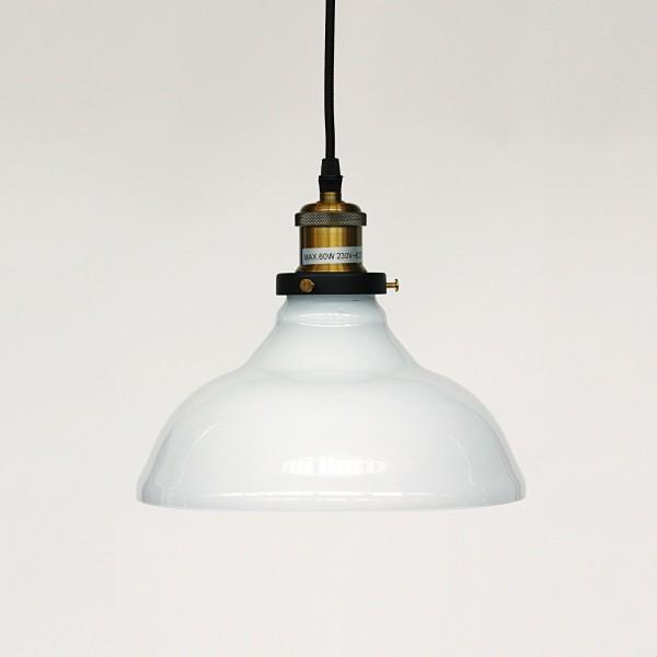Leuchte 'Parson', weiß, Ø 24 cm, H 20 cm