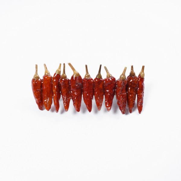 """Haarspange """"Chili"""", rot"""