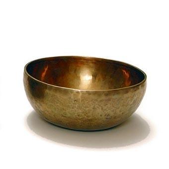 Klangschale 'Jam Bowl', bronze, H 10 cm, Ø 20 cm