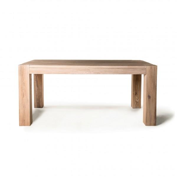 "Tisch ""Sibiu"", braun-gekälkt, L 180 cm, B 100 cm, H 78 cm"