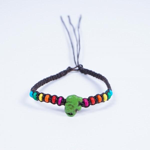 "Armband ""Neil"", handgefertigt, multicolor"