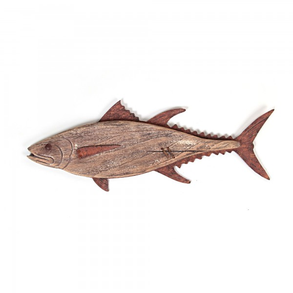 "Wandbild ""Forelle"", braun, L 3 cm, B 58 cm, H 22 cm"
