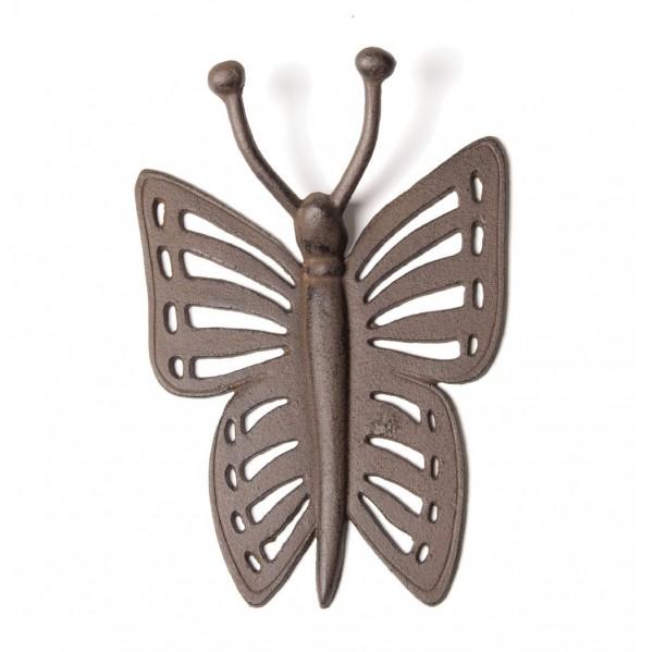 """Stiefelknecht """"Butterfly"""", antik-braun, B 6,5 cm, H 21 cm"""
