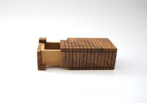 Thuja 'Secret-Box', natur, T 9,5 cm, B 5,5 cm, H 4 cm