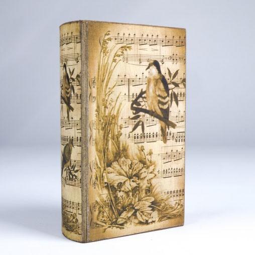 "Buch-Tresor ""Poem"", L 5 cm, B 13 cm, H 21 cm"