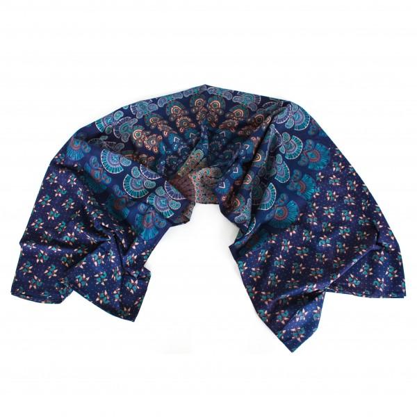 """Tagesdecke """"Ila"""", dunkelblau, L 240 cm, B 200 cm"""