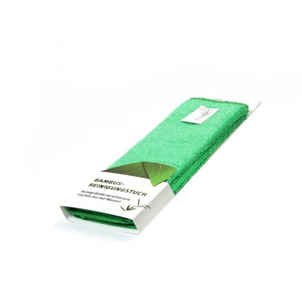 "Reinigungstuch ""Bambus"", 2er-Pack, grün, L 27 cm, B 30 cm"