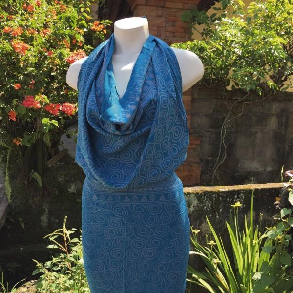 Sarong, blau