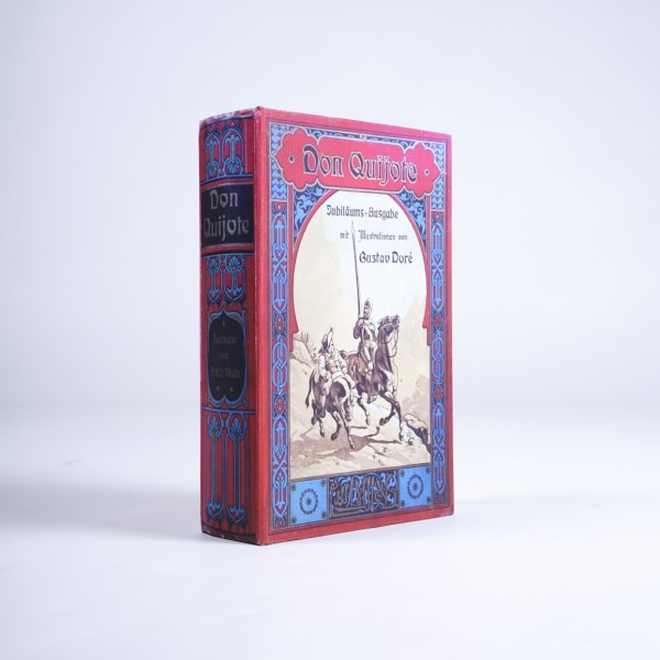 "Buch-Tresor ""Don Quijote"", L 7 cm, B 18 cm, H 27 cm"