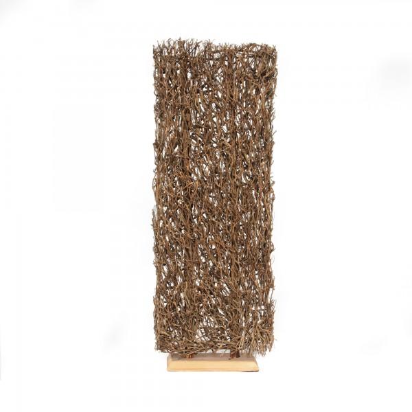 Teepflanzen-Objekt, natur, T 22 cm, B 60 cm, H 170 cm