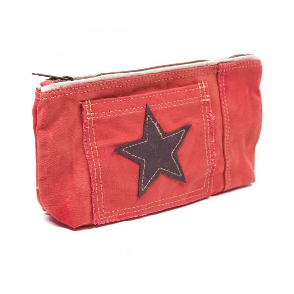 Etui 'One Star', rot, B 27 cm, H 15 cm