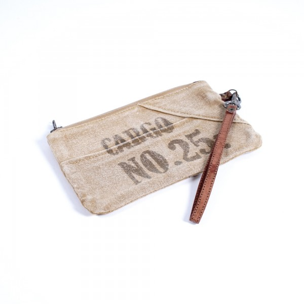 Etui 'Cargo', beige, B 20 cm, H 12 cm