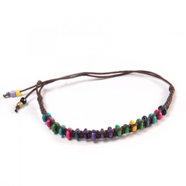 "Armband ""David"", aus Baumwolle, multicolor"