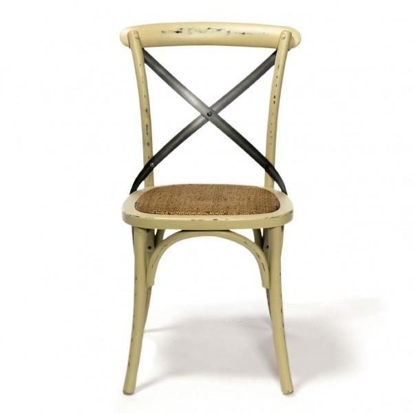 "Stuhl ""Bonnieux"", weiß, H 90 cm, B 50 cm, T 50 cm"