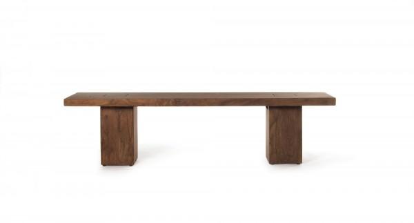 Sitzbank 'Carlo', dunkel, T 40 cm, B 180 cm, H 45 cm