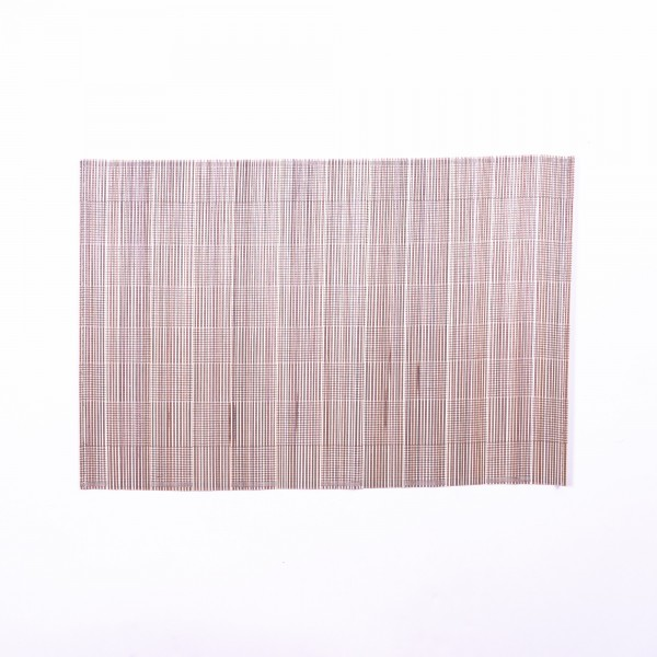 Tischset aus Bambus, braun/beige, L 33 cm, B 48 cm