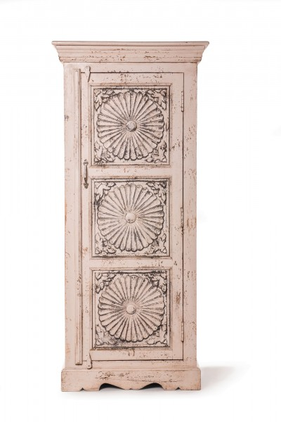 Schrank 'Bhilwara', T 40 cm, B 62 cm, H 140 cm