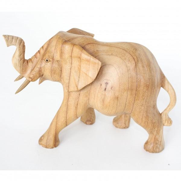 Elefant, braun, L 26 cm, B 13 cm, H 20 cm
