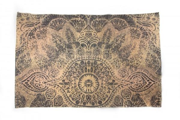 """Teppich """"Srinagar"""", handbedruckt, L 200 cm, B 140 cm"""