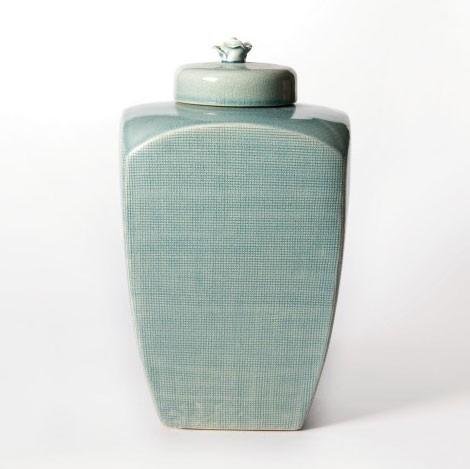"""Deckelgefäß """"Vase Sui"""", Ø 19 cm, H 31 cm"""