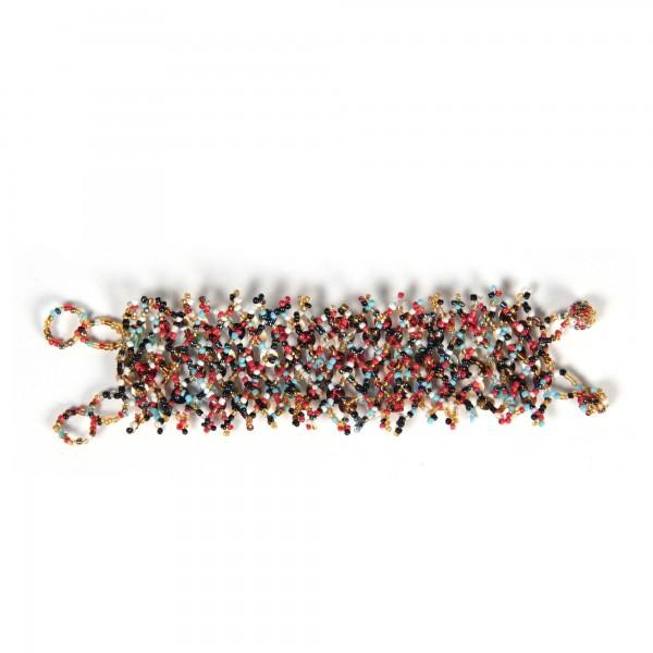 Armband 'Eyes', multicolor, T 9 cm, B 4 cm, H 2 cm
