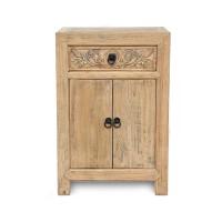 Kommode 'Herolind', 1 Schublade, 2 Türen, natur, T 45 cm, B 60 cm, H 88 cm