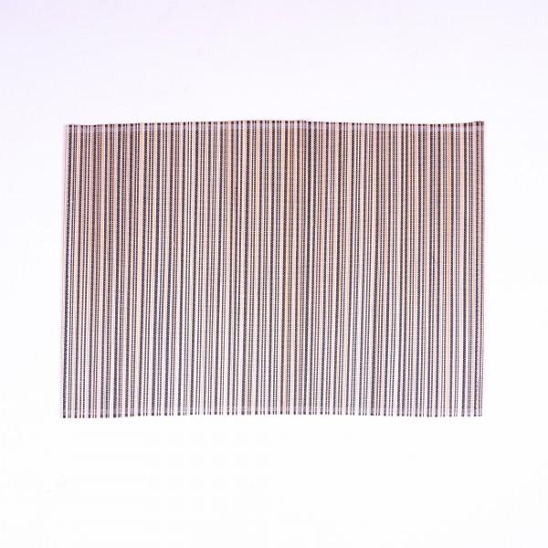 Tischset aus Bambus, schwarz/weiß, L 33 cm, B 48 cm