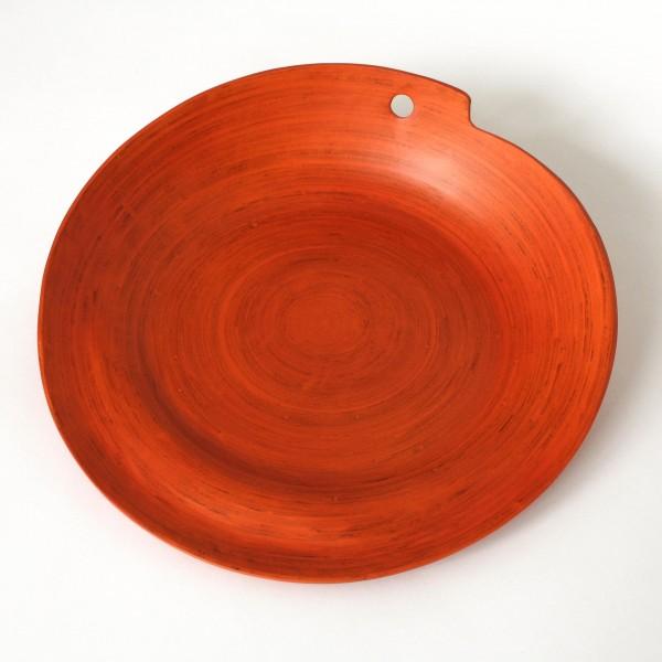 Ablage, orange, H 9 cm, Ø 35 cm
