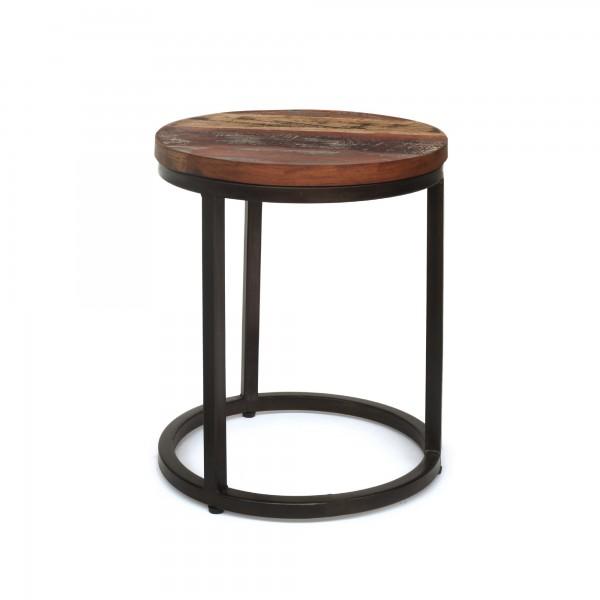 Tisch 'Halira' S, schwarz, Ø 34 cm, H 42 cm