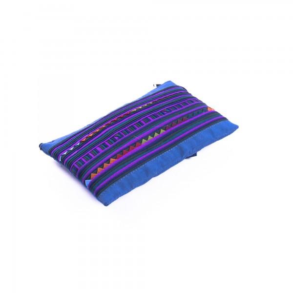 Täschchen mit Reißverschluss, blau, L 18 cm, H 11 cm