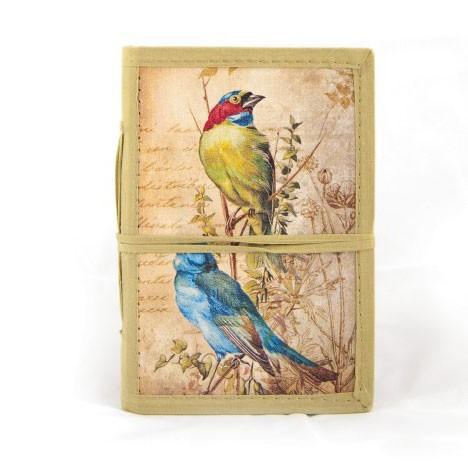 """Notizbuch """"Mitrom"""" aus handgeschöpftem Papier, B 12 cm, H 18 cm"""