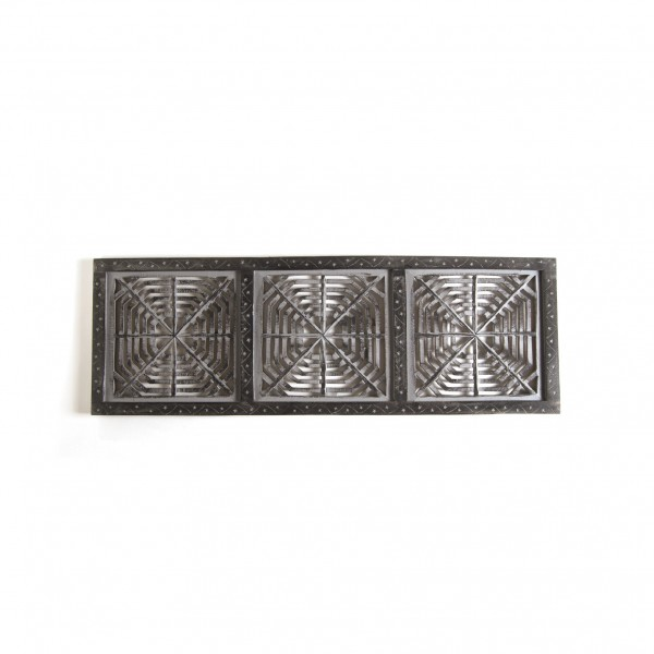 "Wandpanel ""Cobweb"", aus Mangoholz, B 30 cm, H 92 cm"