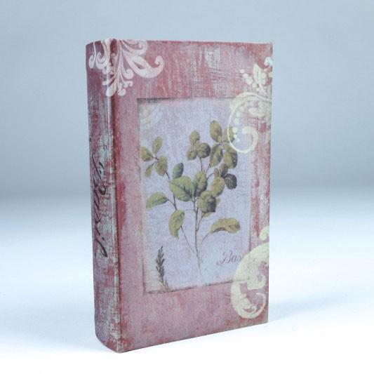 "Buch-Tresor ""Botanique"", L 5 cm, B 13 cm, H 21 cm"