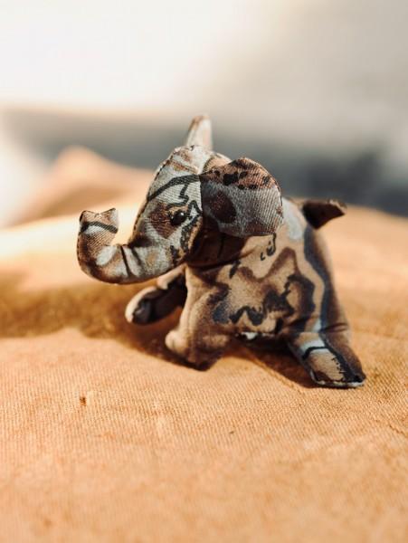 Sandtier 'Elefant' S, multicolor, T 9 cm, B 9 cm, H 7 cm