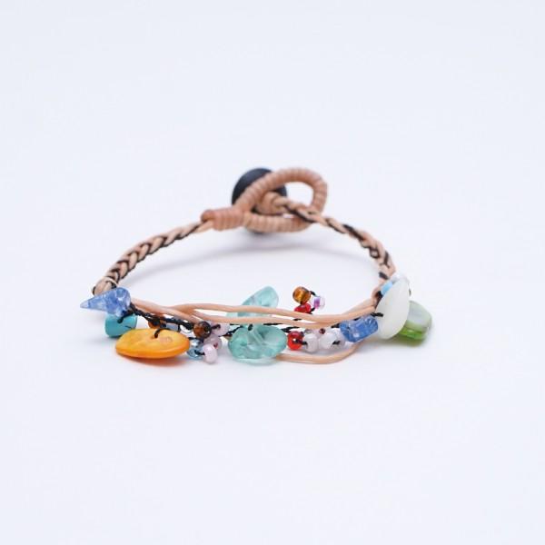 Armband 'Ross', handgefertigt, multicolor