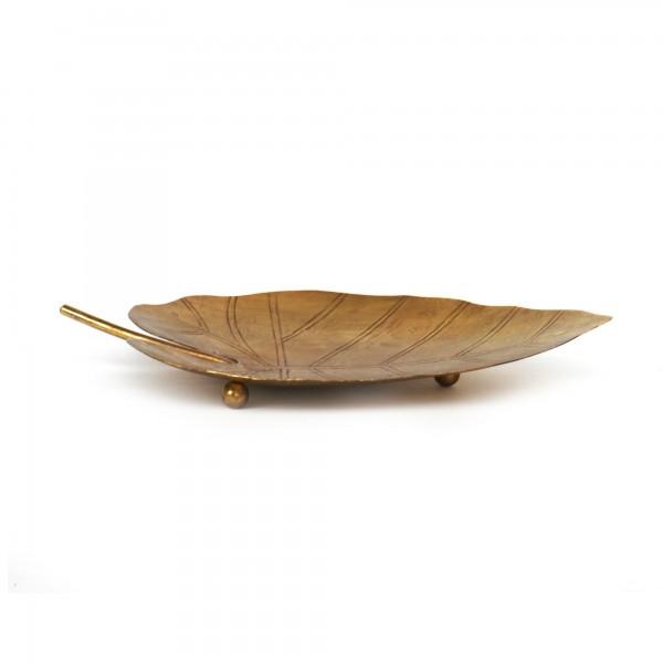 Ablage 'Blatt', T 15 cm, B 26 cm, H 3 cm