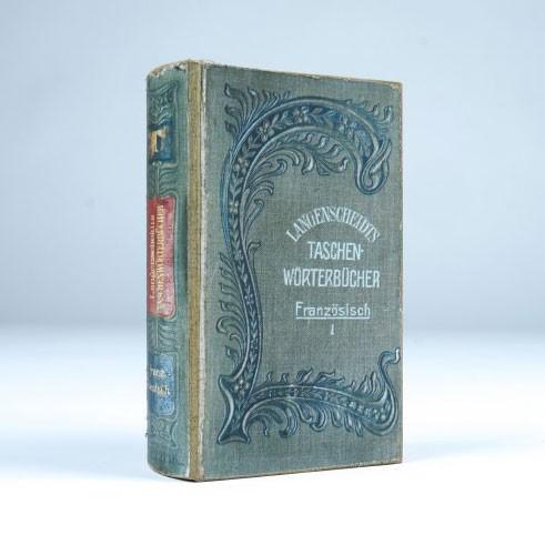 """Buch-Tresor """"Taschenwörterbuch"""", L 5 cm, B 11 cm, H 17 cm"""