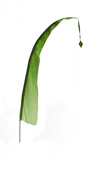 Balifahne, grün, H 400 cm