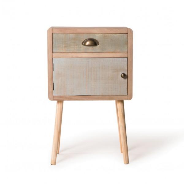 """Beistellschrank """"Brindisi"""", mit 1 Schublade und 1 Tür, L 30 cm, B 40 cm, H 65 cm"""