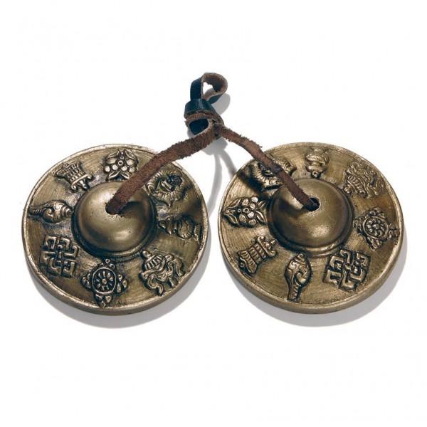 Zimbel aus Bronze, bronze