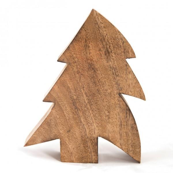 """Dekotanne """"Falkenstein"""" aus Holz, braun, B 15 cm, H 19 cm"""