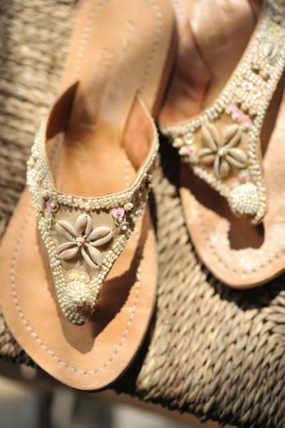 Sandalen Damen, Leder Gr. 39, braun