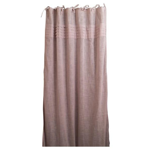 Baumwoll-Vorhang, mauve, B 105 cm, H 245 cm