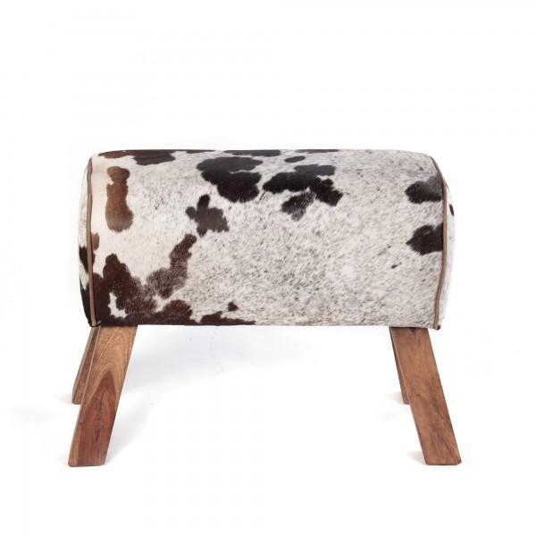 Sitzbock 'Cow', natur, T 28 cm, B 69 cm, H 50 cm