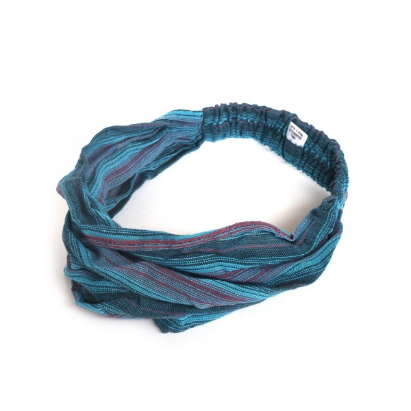 Haarband Anaheim, blau, schwarz