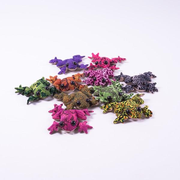 "Sandtier ""Frosch"", mittel, multicolor, L 10 cm"