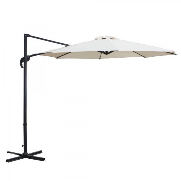 """Sonnenschirm """"Rapallo"""", schwenk- und ausfahrbar, beige, Ø 2,90 m"""