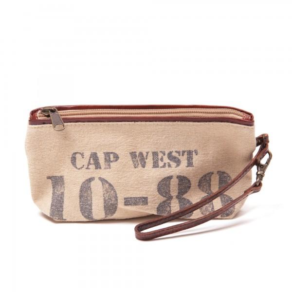 Etui 'Cap West', beige, B 22 cm, H 10 cm